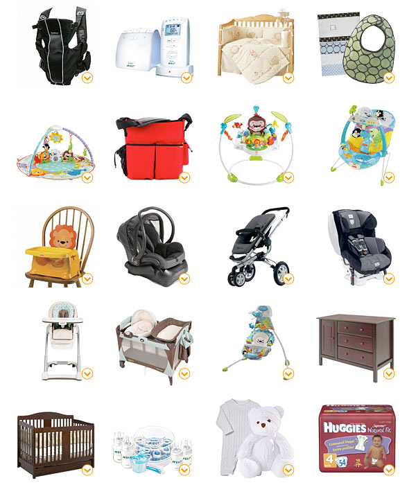 Baby Registry Must Haves by my friend and mom of two!