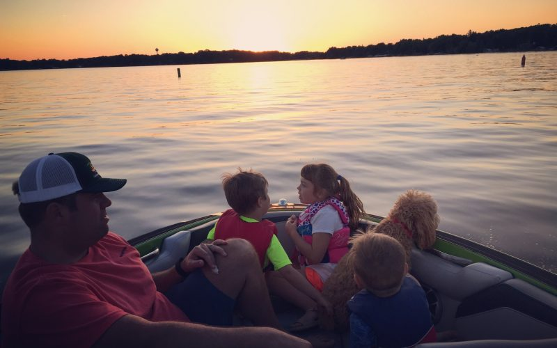 Lake Minnetonka evening boat ride