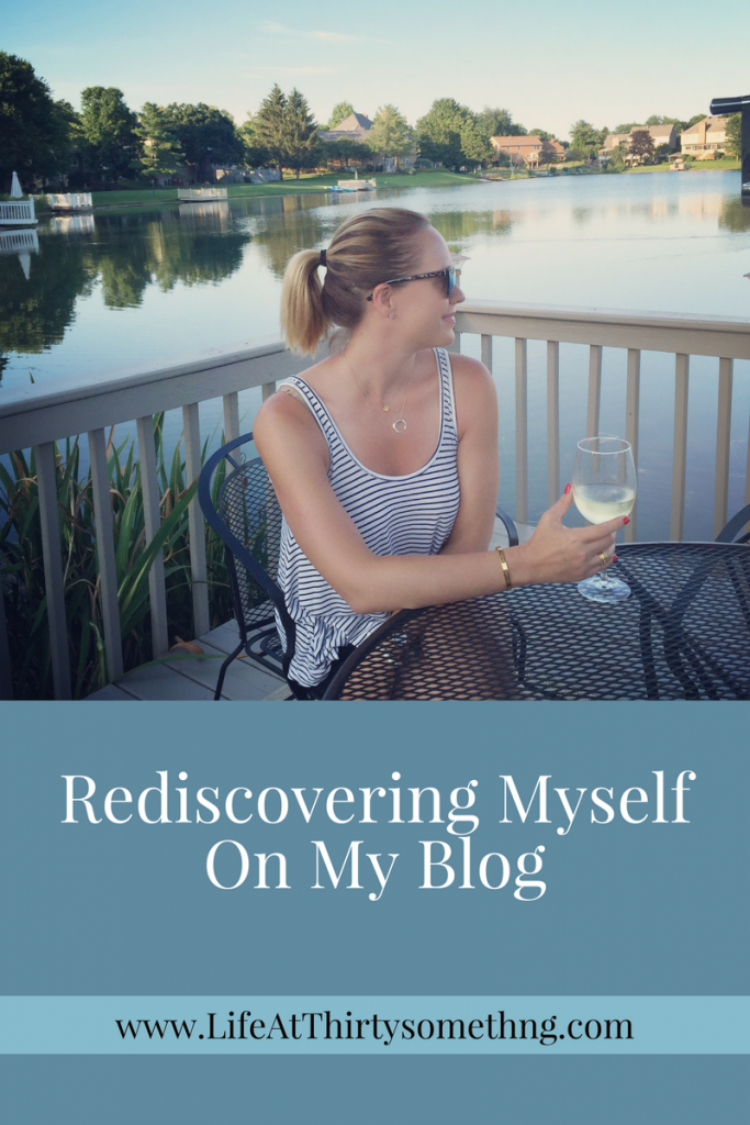 PINTEREST GRAPHIC; REDISCOVERING MYSELF ON MY BLOG
