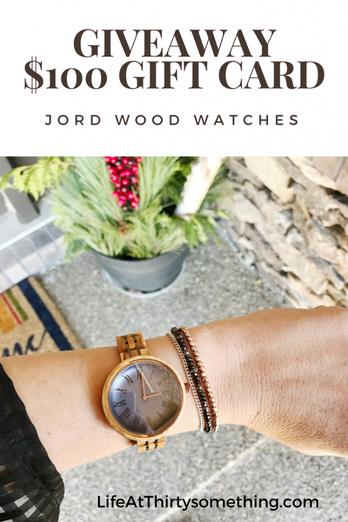 JORD Watch Giveaway Image