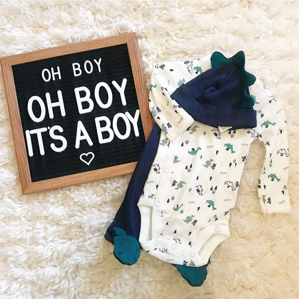 BABY GENDER REVEAL SIGN...It's a Boy