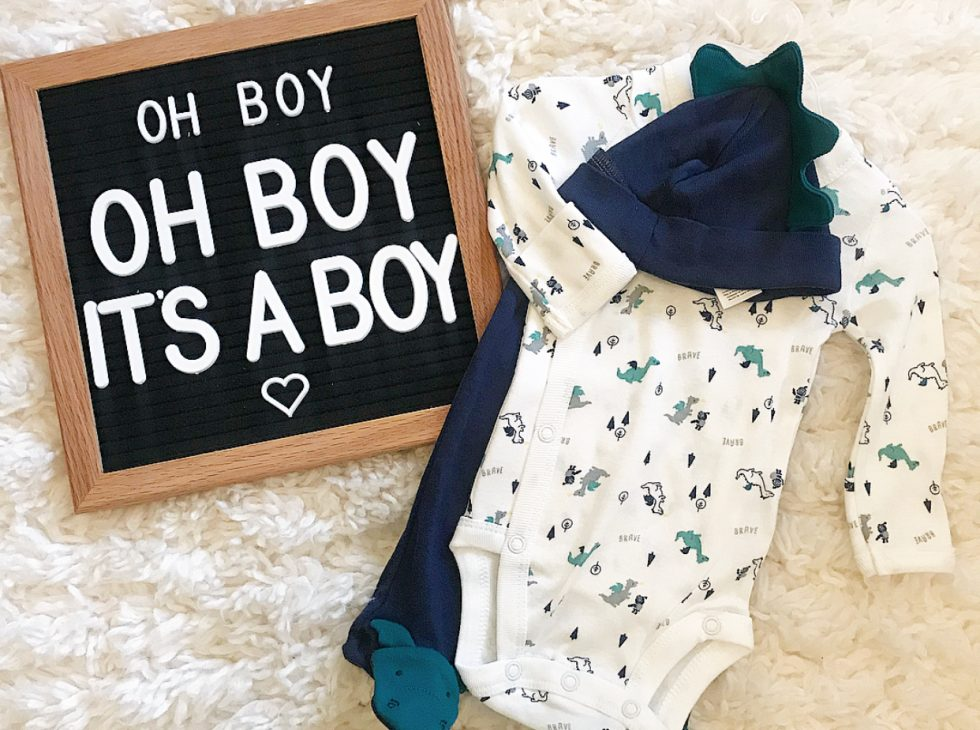 It's a Boy word sign