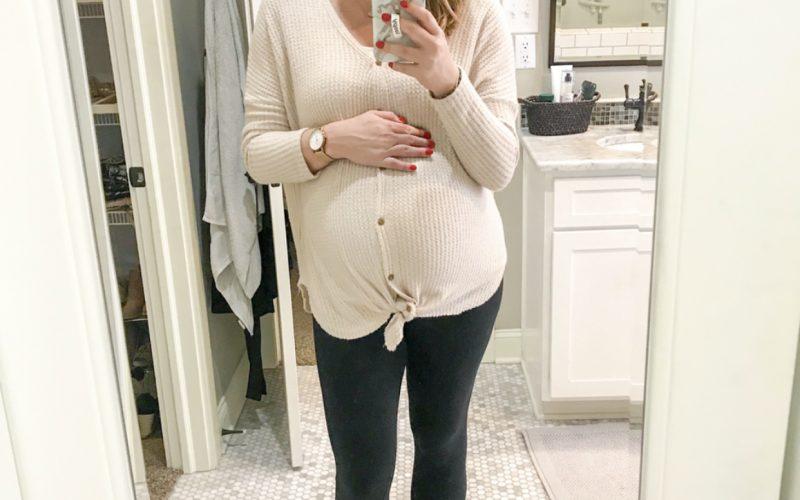 38 weeks pregnant pic