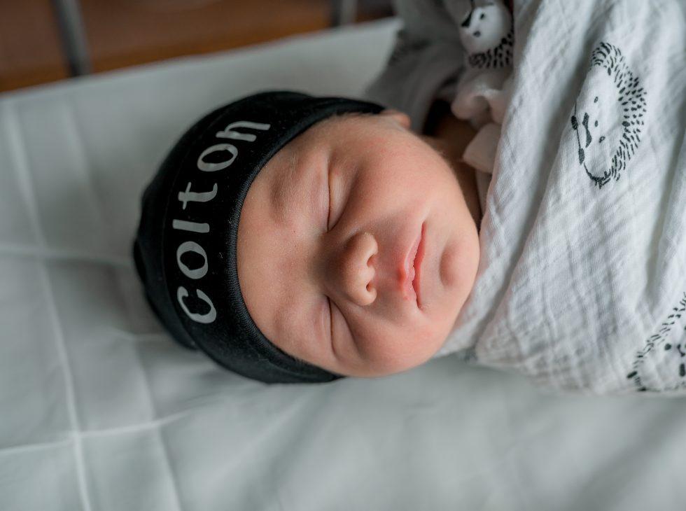 newborn baby colton